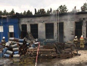 В Свердловской области произошёл пожар на предприятии по утилизации боеприпасов