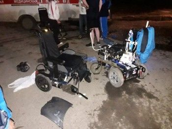 В Тульской области мужчина намеренно сбил троих спортсменов-паралимпийцев