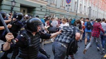 Правозащитники «Агоры» пожаловались вООН наразгон акций протеста вМоскве