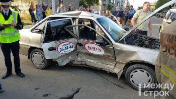 В Нижнем Тагиле произошло тройное ДТП