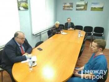 Министр здравоохранения Свердловской области Андрей Цветков встретился с врачами ЦГБ № 1, которые написали заявление на увольнение