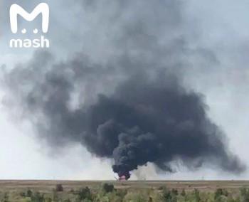 ВСаратовской области разбился военный вертолёт Ми-8
