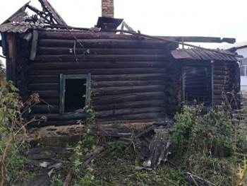 ВСухом Логе всобственном доме сгорела инвалид второйгруппы