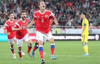 Россия обыграла Казахстан в отборочном матче Евро-2020
