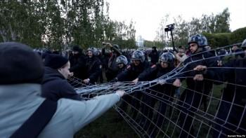 В Екатеринбурге вынесли первый приговор по уголовному делу о протестах против храма