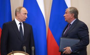 Сечин пожаловался Путину наотсутствие поддержки от Минфина