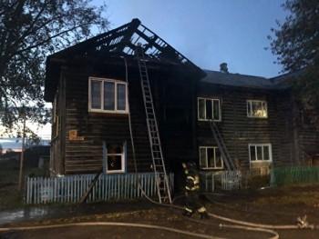 ВСерове пять человек пострадали при эвакуации во время пожара
