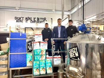 Команда Crazy Brew поддержала «Добрый челлендж» АН «Между строк» для помощи тяжелобольным детям (ВИДЕО)