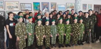 Герой России провёл школьникам Нижнего Тагила уроки мужества
