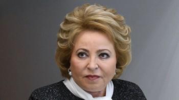 Матвиенко втретий раз стала председателем Совета Федерации
