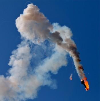 Тагильские спасатели отправились ликвидировать последствия «крушения» космического корабля