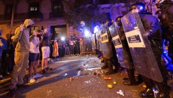 В ходе протестов в Каталонии пострадали более 70 человек, 25 задержаны