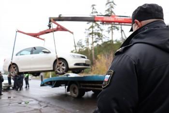 У автолюбителя из Нижнего Тагила арестовали Volkswagen Polo из-за 90 неоплаченных штрафов