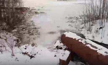 Директор «Водоканала-НТ» подал заявление в полицию о порче неизвестными трубы от шламонакопителя в Черноисточинске