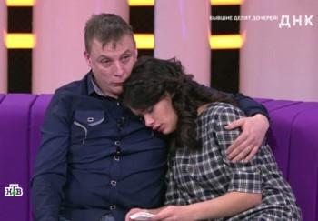 Бывшие супруги из Нижнего Тагила пришли на телеканал НТВ, чтобы установить отцовство старшей дочери