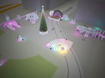 Ледовый городок с прядущим мизгирём и Незнайкой в Нижнем Тагиле построит местная компания «Парад»