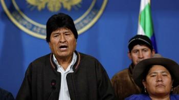 Президент Боливии Эво Моралес ушёл в отставку из-за массовых протестов