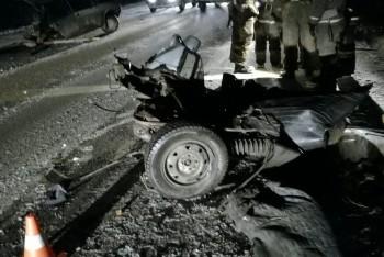 Под Нижним Тагилом столкнулись два легковых автомобиля (ВИДЕО)
