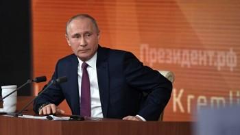 Кремль назвал дату большой пресс-конференции Владимира Путина