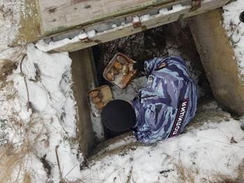 ВВерхней Пышме обнаружили подземный тайник сгранатами