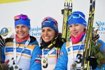Уральская биатлонисткаЕкатерина Глазырина завоевала бронзу Кубка IBU