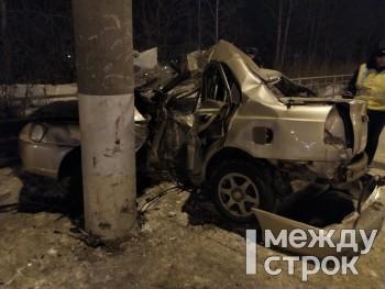 Появилась видеозапись смертельного ДТП на Вые, в котором погиб 18-летний водитель