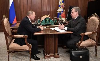 Путинудивился данным орекордном неисполнении бюджета натриллион рублей