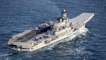На крейсере «Адмирал Кузнецов» произошёл пожар, пропали трое человек