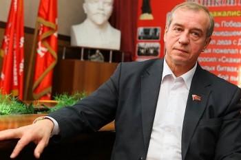 В Иркутске КПРФ потребовала отставки Путина и Медведева после увольнения губернатора Левченко