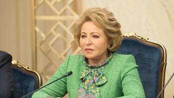 Матвиенко предложила «гнать в шею» чиновников, которые хамят гражданам