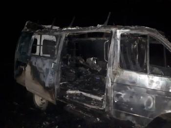 Под Нижним Тагилом сгорела машина скорой помощи