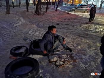 В Екатеринбурге двое бездомных устроили пожар в овощехранилище, один из них погиб