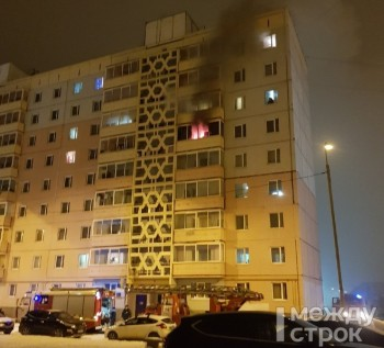 В Нижнем Тагиле пожарные спасли 15 человек из горящего многоквартирного дома. Есть пострадавший