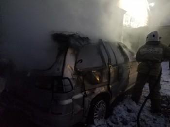 В Нижнем Тагиле накануне Нового года сгорели две дорогие иномарки