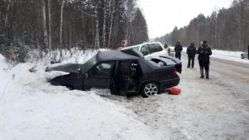 В ДТП на трассе Пермь — Екатеринбург скончались два человека