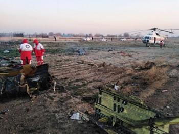В Иране разбился украинский Boeing с 180 пассажирами на борту