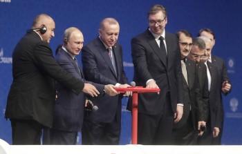 Путин и Эрдоган официально запустили газопровод «Турецкий поток»