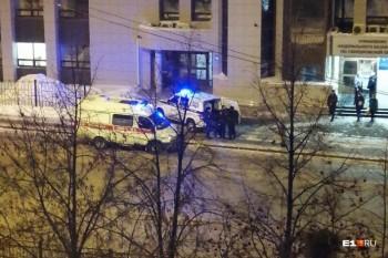 В Екатеринбурге пьяный мужчина напал на охранника областного казначейства