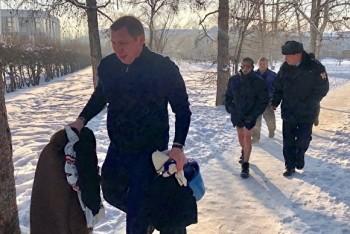 В Иркутской области мужчина пытался сжечь себя у здания мэрии