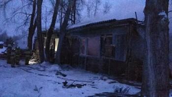 В Томской области в результате пожара в посёлке погибли 11 человек (ВИДЕО)