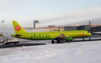Самолёт компании S7 совершил экстренную посадку в Москве из-за угрожающей взорвать себя пассажирки