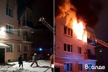 В Верхней Салде женщина выпрыгнула из окна во время пожара (ВИДЕО)