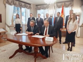 «Это грандиозный и судьбоносный проект». В Нижнем Тагиле при участии руководителей ЕВРАЗа и Свердловской области подписали «дорожную карту» по строительству моста через Нижнетагильский пруд