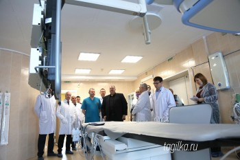 В горбольнице № 4 открылся новый кабинет компьютерной томографии