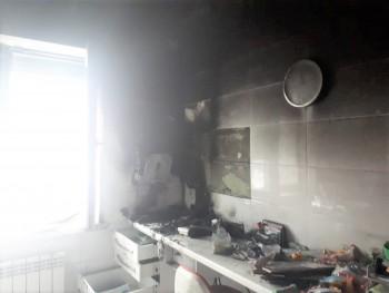 В Нижнем Тагиле сгорел детский кабинет частной стоматологии на ГГМ (ФОТО)
