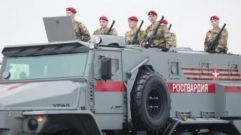 Путин назвал росгвардейцев «ранимыми итрепетными»