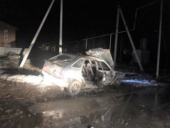 Ночью в Нижнем Тагиле сгорели две легковушки