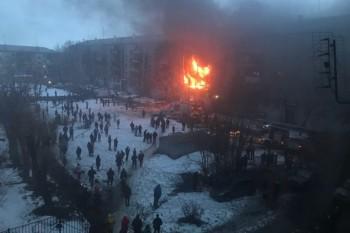 В Магнитогорске произошёл взрыв в многоквартирном жилом доме