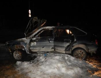В Нижнем Тагиле мужчина заявил об угоне и поджоге своего автомобиля, чтобы не лишиться прав за пьяную езду