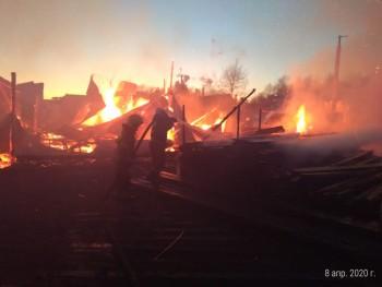 В МЧС рассказали подробности пожара на пилораме в Нижнем Тагиле